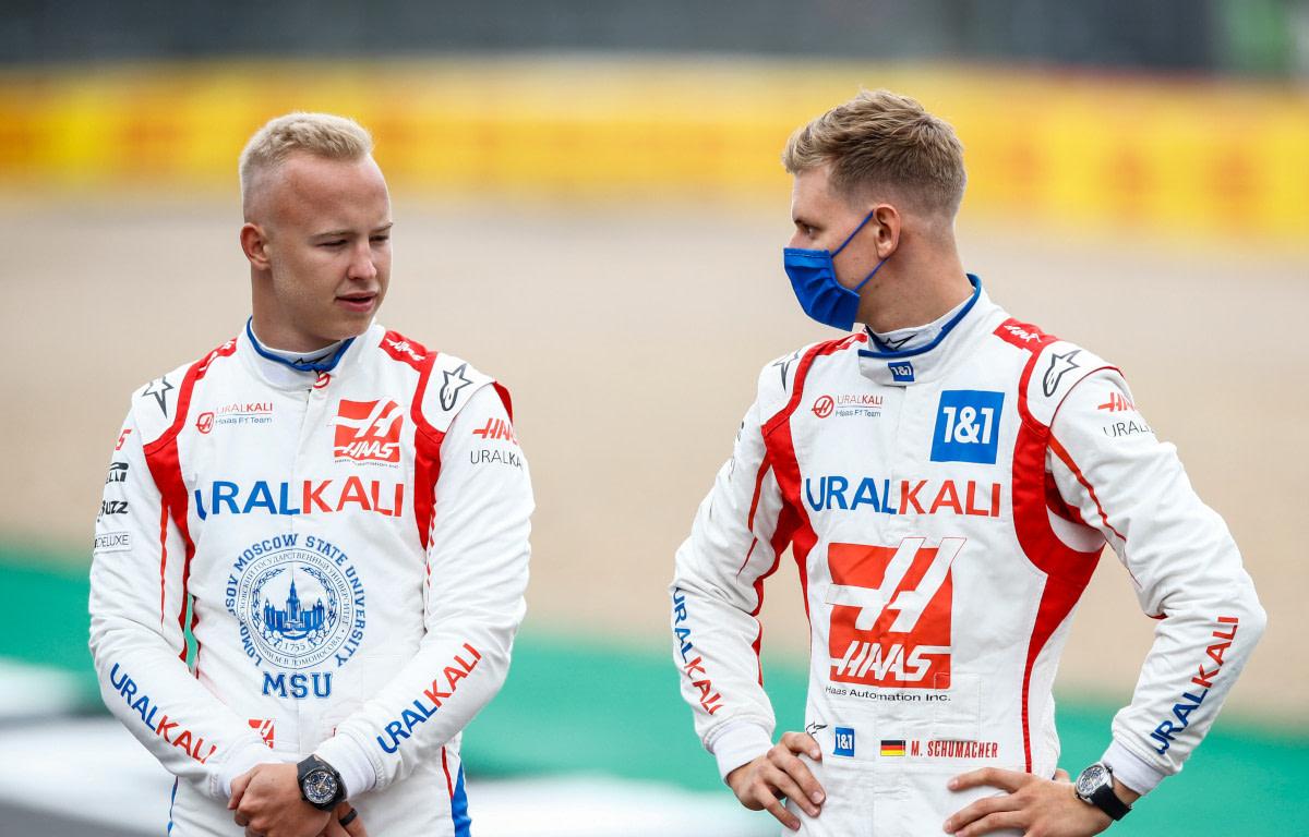Nikita Mazepin and Mick Schumacher