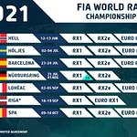 World Rallycross 2021 schedule
