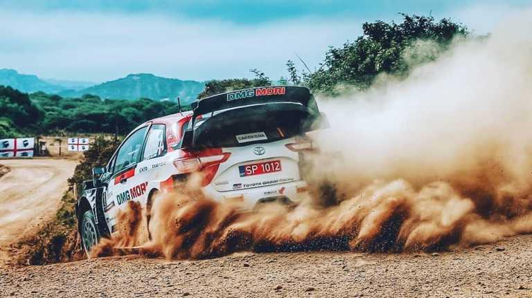 WRC Sardegna Toyota Gazoo Racing official