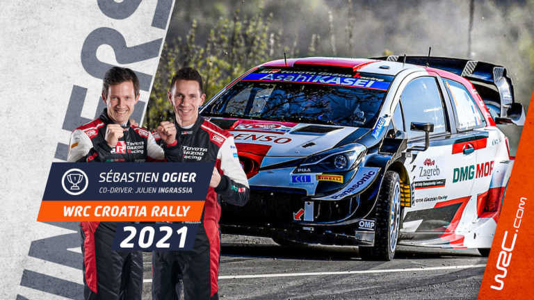 Sebastien Ogier Rally Croatia 2021
