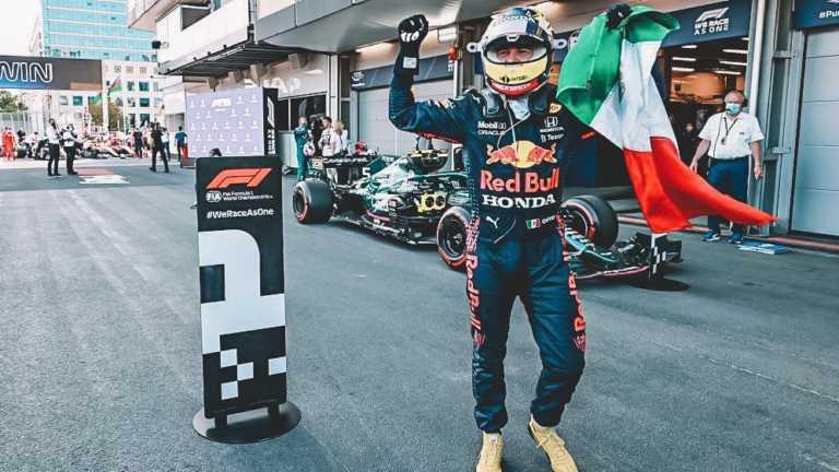 Baku GP Sergio Perez by f1.com