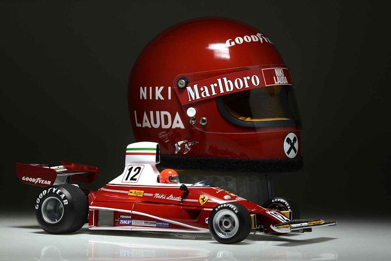 F1 helmet replica