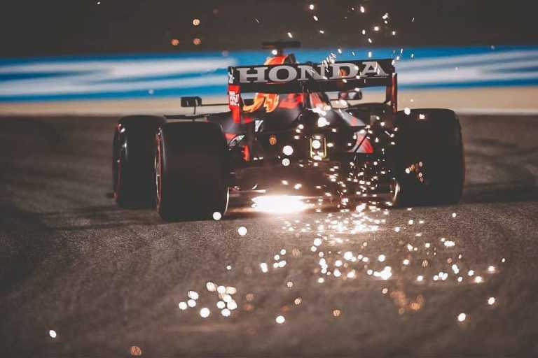 F1 Bahrain qualifying 2021 social Media Red Bull pool