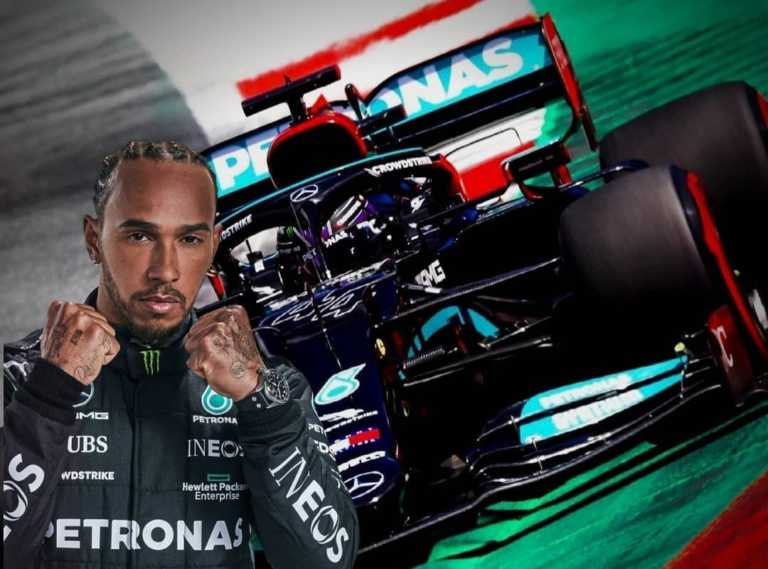 Lewis Hamilton signs new contract