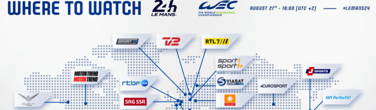 Where to watch 24 Hours of Le Mans 2021?
