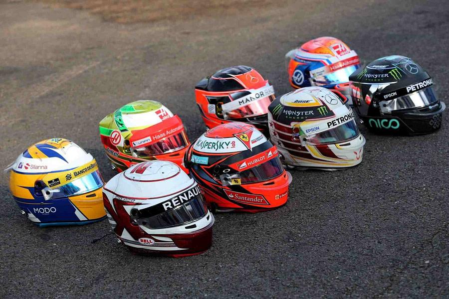 Bell F1 Helmets