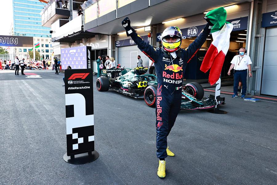 Sergio Perez Baku GP 2021