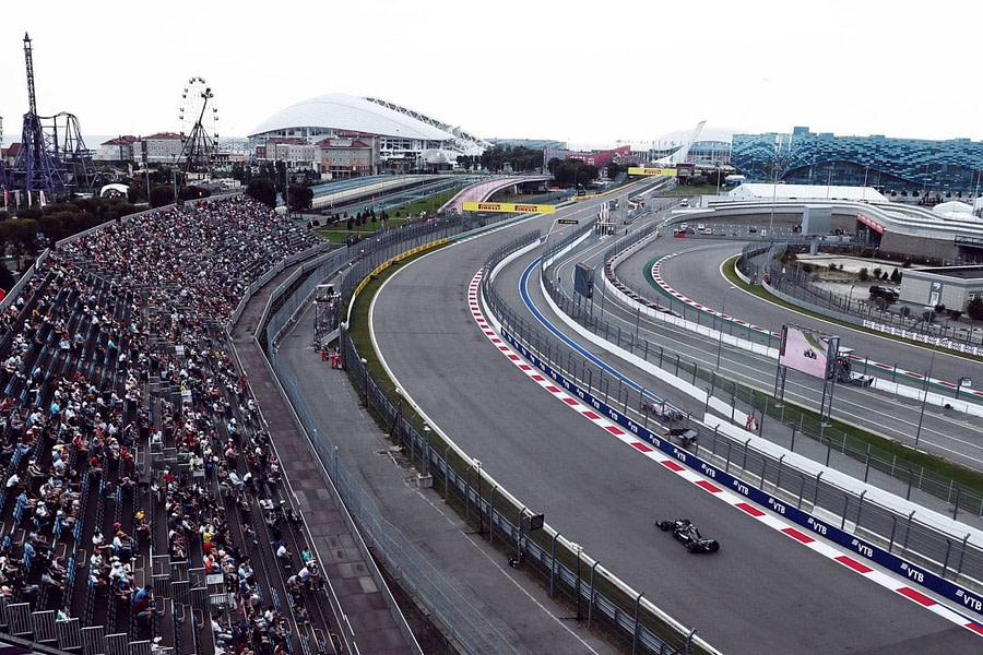 F1 Russian grand prix, sochi